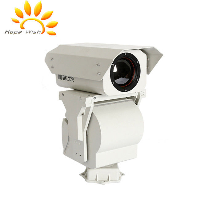 Uncooled Long Range Thermal Night Vision Camera CE For Border Surveillance