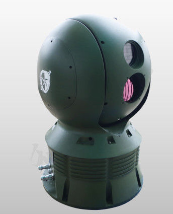 50mK Thermal Surveillance System With 10km Border Security Aluminum Alloy Housing