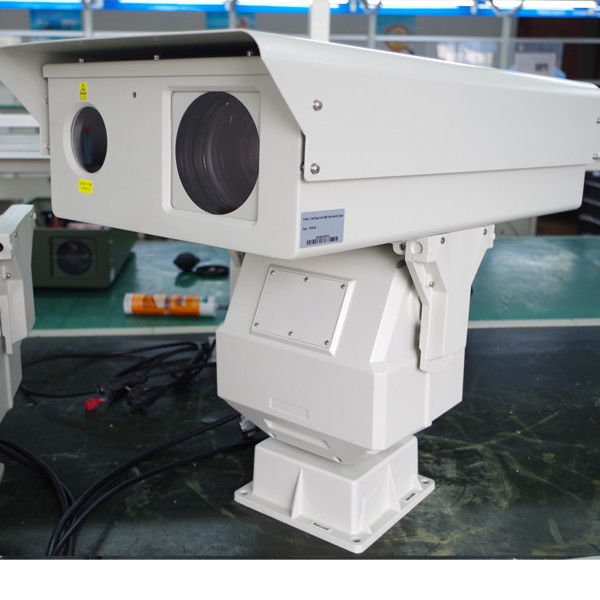 5 Km Long Range Infrared Camera Ptz With Optical Zoom , 1080p HD  laser Camera