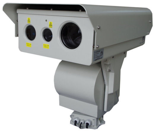 High Resolution PTZ Thermal Imaging Camera Border Security Infrared Camera System