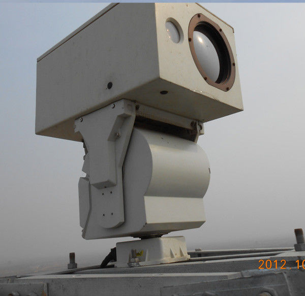Railway Security PTZ Infrared Thermal Imaging Camera With Optical Zoom Lens