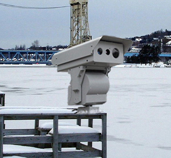 360 Pan Tilt Thermal Surveillance System Thermal Imaging Video Camera